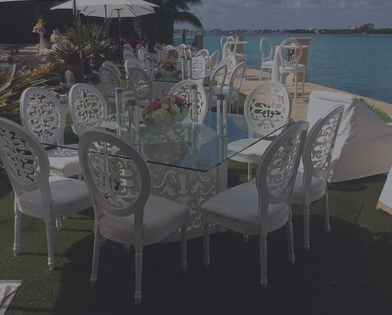 Tables and Chairs Rentals in Jamaica